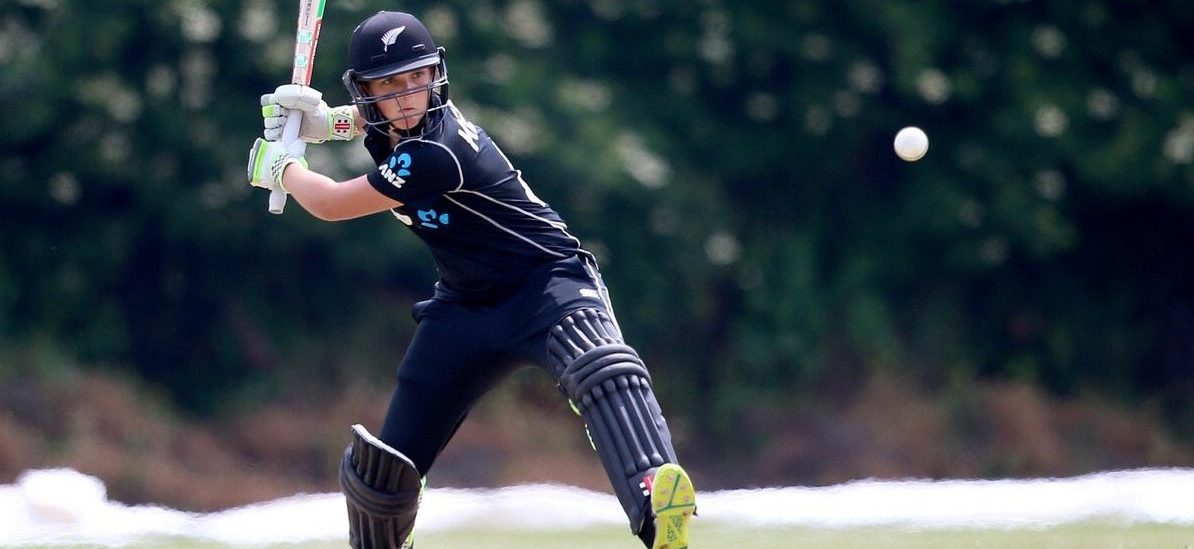 17 year old Amelia Kerr sits atop of the record books. ©White Ferns