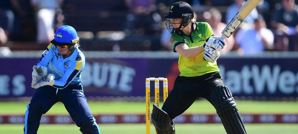Heather Knight scored her career best 96. ©Western Storm