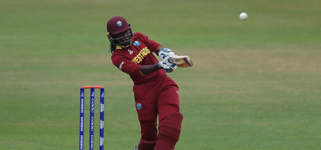 Stafanie Taylor in action. ©ICC