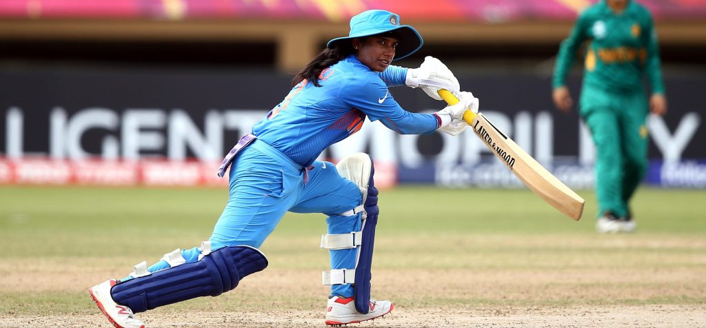 Mithali Raj in action. ©ICC