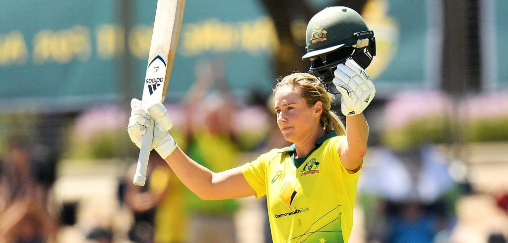 Ellyse Perry hundred