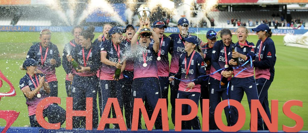 England are the 2017 World Cup Champions. ©ICC