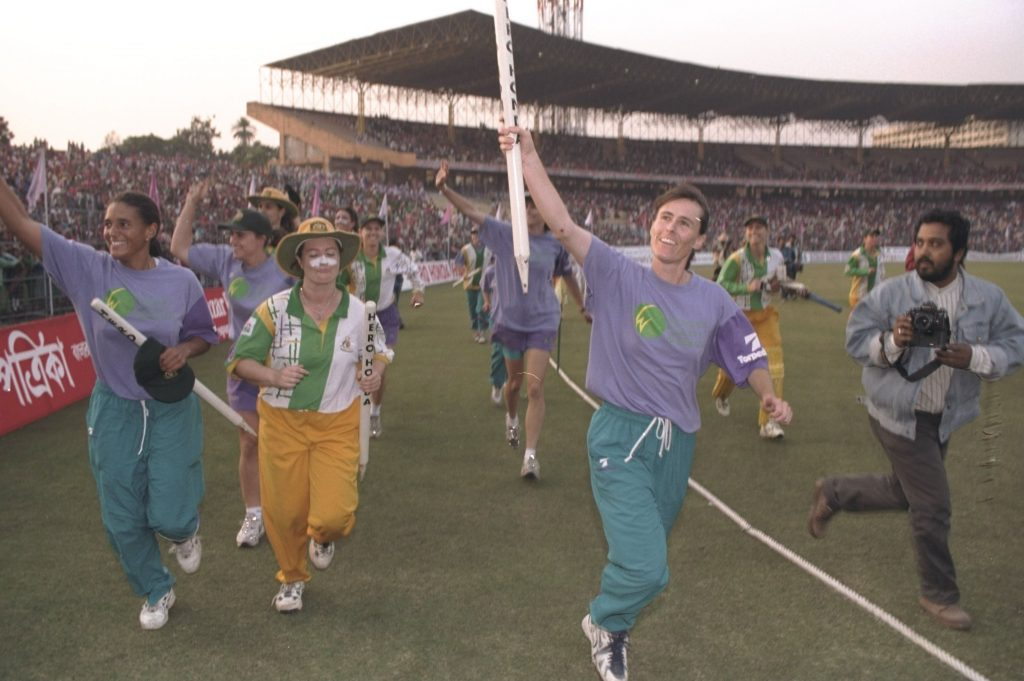 80000 spectators attended the 1997 World Cup final at the Eden Gardens. ©All Sport