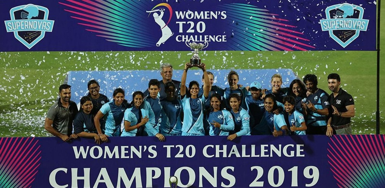 Supernovas won the first ever Women's T20 Challenge. ©BCCI/IPL