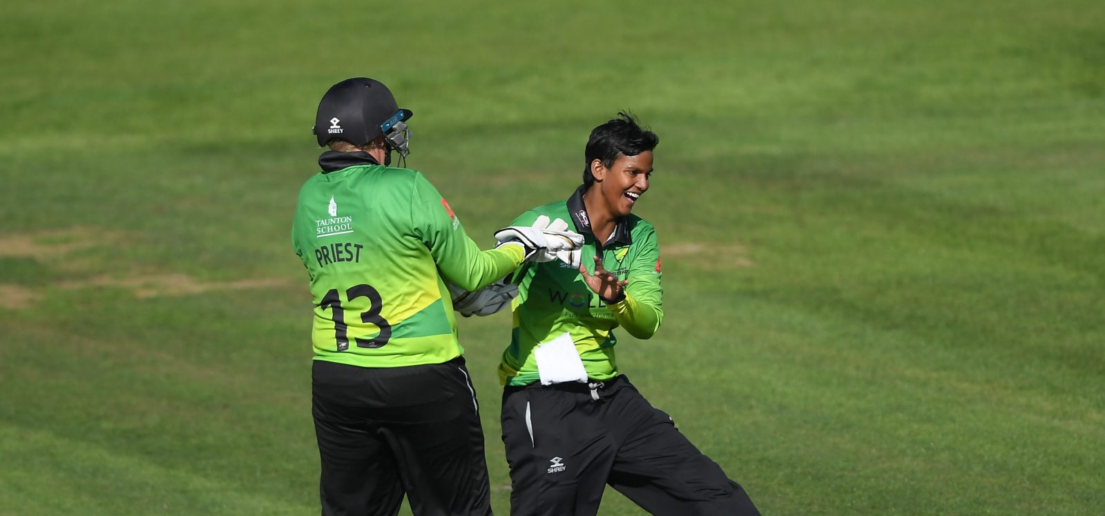 Deepti Sharma celebrates a wicket. ©Getty Images