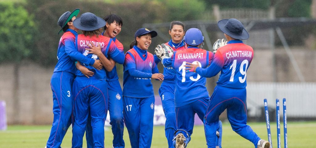 Thailand will enter their first semi-final as favourites against PNG. © ICC