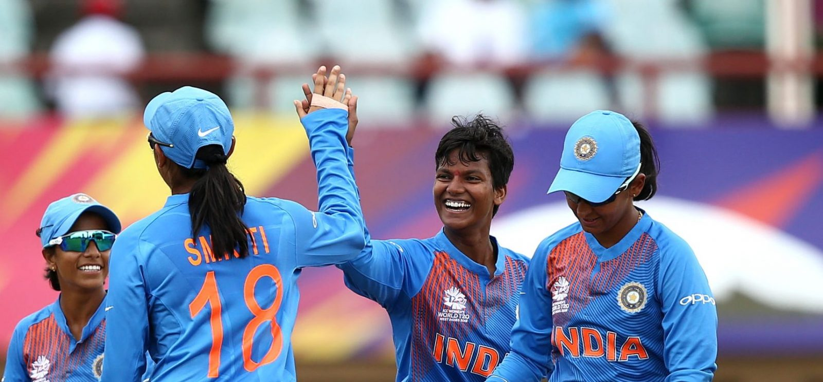Deepti Sharma took three wickets for only eight runs. © Getty Images
