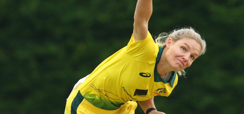 Nicola Carey took three wickets. © Getty Images