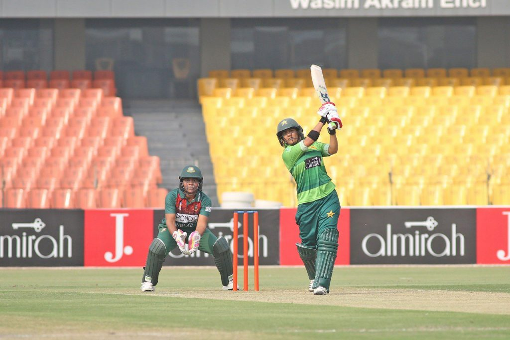 Pakistan's batters showed a willingness to take the attack to the opposition. © PCB