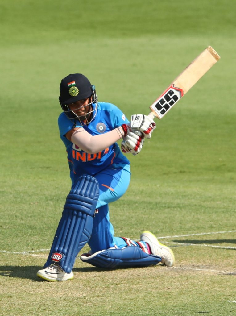 Shafali Verma hits out against Australia A. © Getty Images