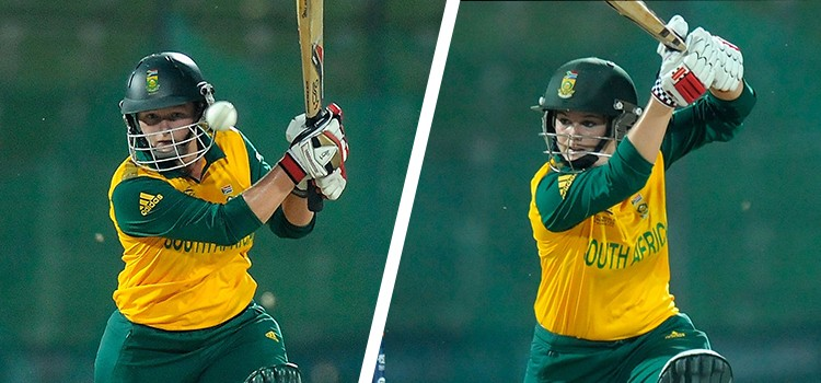 Lizelle Lee (L) and Dane van Niekerk (R) shared an unbroken 163-run stand against Pakistan. © Getty Images