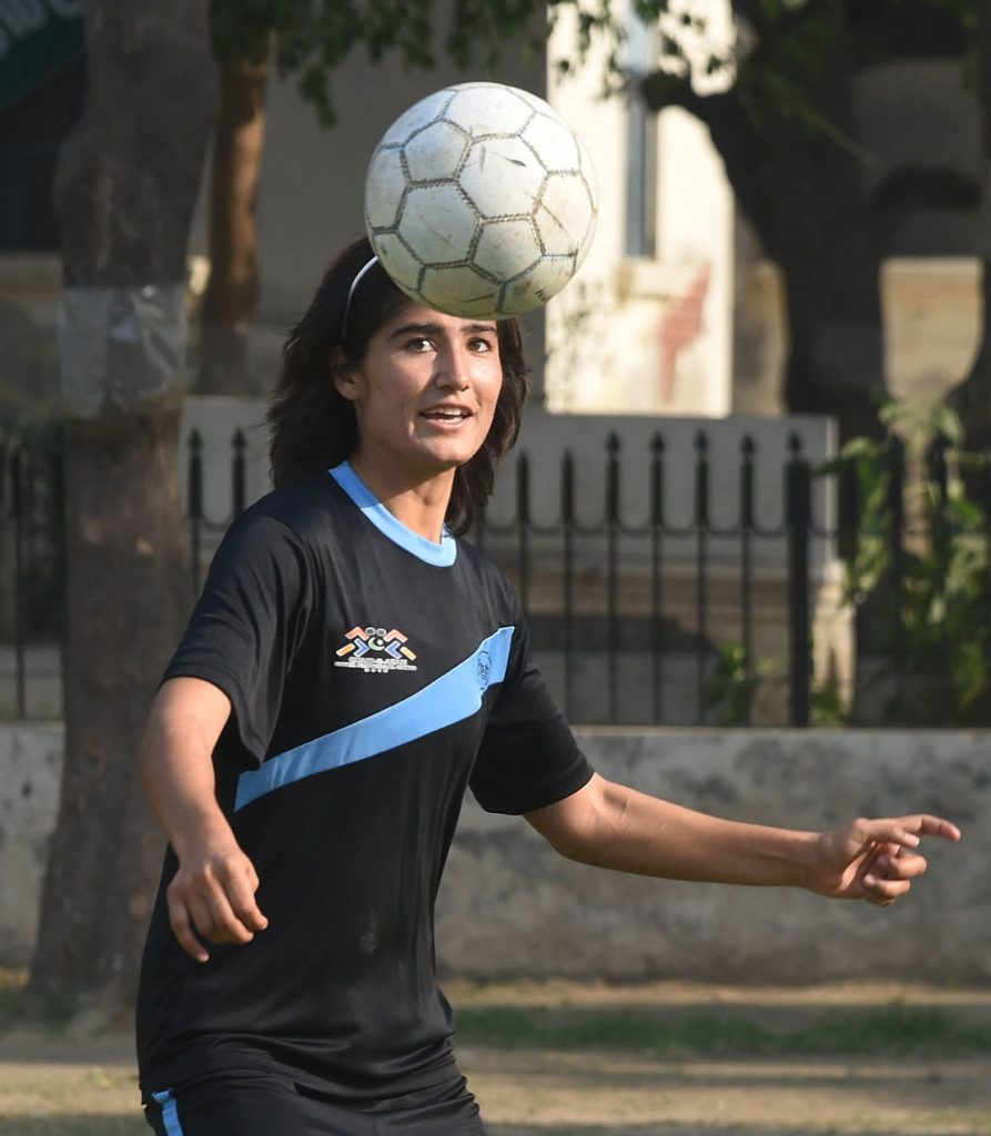 Diana Baig has also played football for Pakistan. © Getty Images