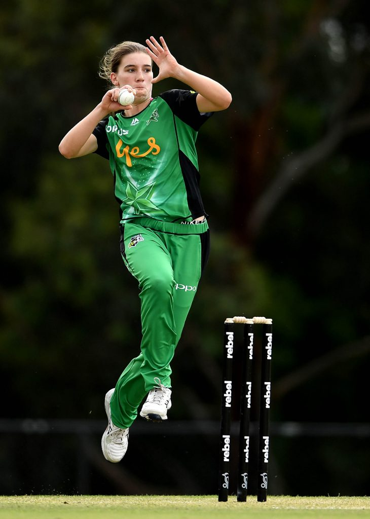 Annabel Sutherland in action for Melbourne Stars. © Getty Images