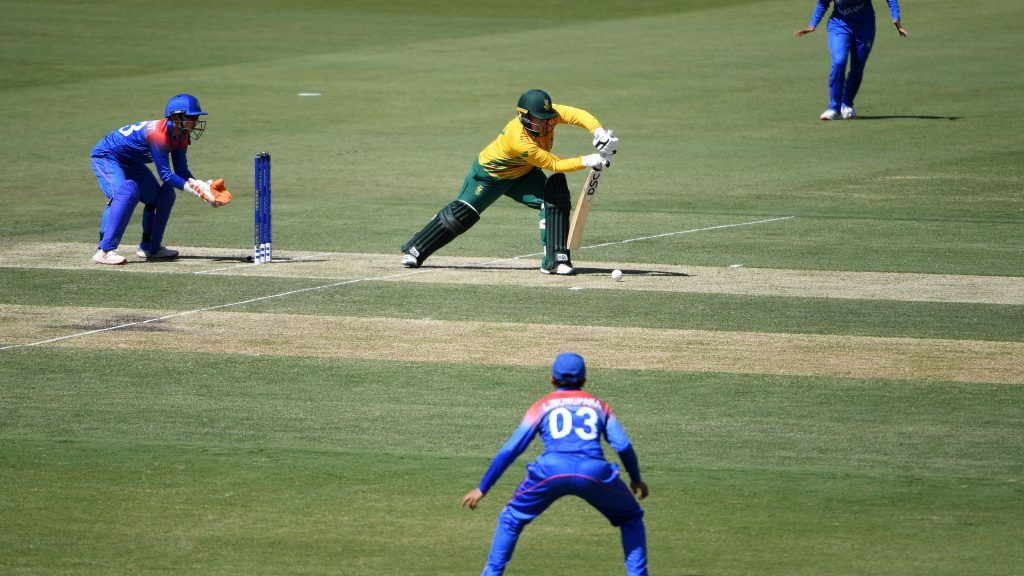 Despite Thailand's struggles against South Africa, they showed glimpses of promise. © ICC