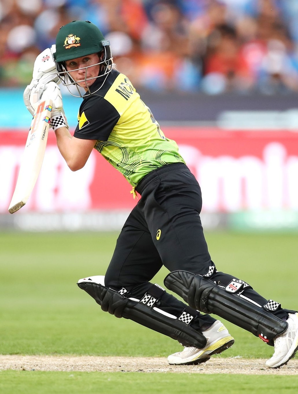 Beth Mooney in glides one behind square on the off-side. © Getty Images