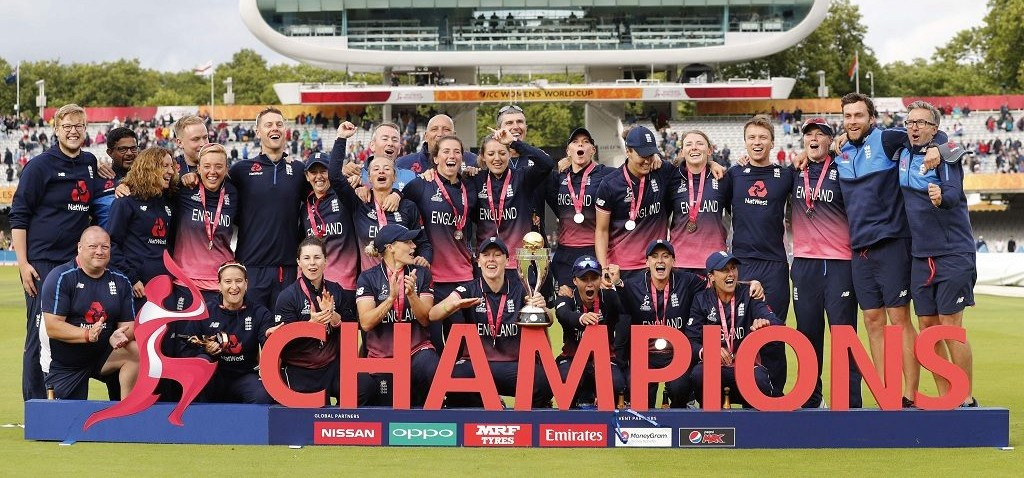 Fran Wilson was a part of England's World Cup-winning side in 2017. © Getty Images