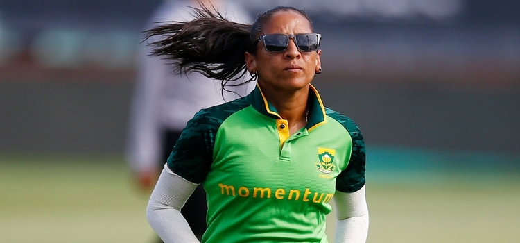Shabnim Ismail in action. © Cricket South Africa